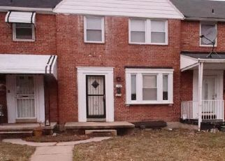 Pre Foreclosure in Baltimore 21239 PENTWOOD RD - Property ID: 1415703364