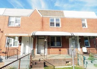 Pre Foreclosure in Baltimore 21230 GRINNALDS AVE - Property ID: 1415725259