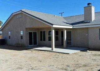 Pre Foreclosure in California City 93505 SHAW ST - Property ID: 1420203549