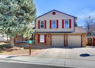 Pre Foreclosure in Aurora 80017 S KALISPELL WAY - Property ID: 1421609446