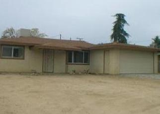 Pre Foreclosure in Yucca Valley 92284 PUEBLO TRL - Property ID: 1424683588