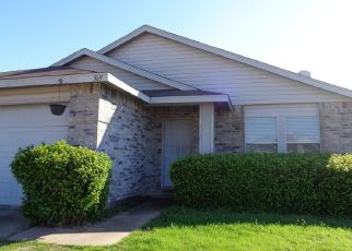 Pre Foreclosure in Crowley 76036 KEBLE DR - Property ID: 1426750381