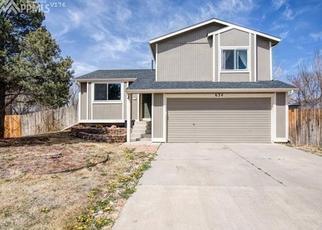 Pre Foreclosure in Fountain 80817 AUTUMN PL - Property ID: 1428768120