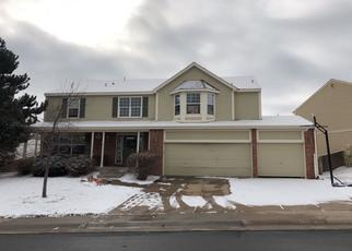 Pre Foreclosure in Parker 80134 GREENSTONE CIR - Property ID: 1428788722