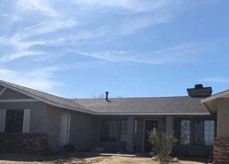 Pre Foreclosure in Llano 93544 E AVENUE W4 - Property ID: 1428857923
