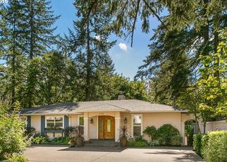 Pre Foreclosure in Lake Oswego 97034 FAIRWAY RD - Property ID: 1430695208