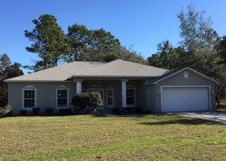 Pre Foreclosure in Brooksville 34614 CLIFF SWALLOW RD - Property ID: 1432789159