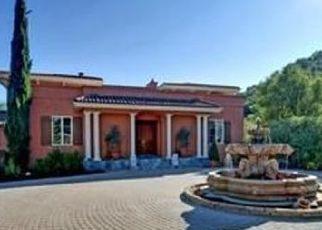 Pre Foreclosure in Saratoga 95070 MOUNT EDEN RD - Property ID: 1434460478