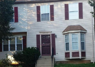 Pre Foreclosure in Suitland 20746 SILVER PARK CT - Property ID: 1437495194