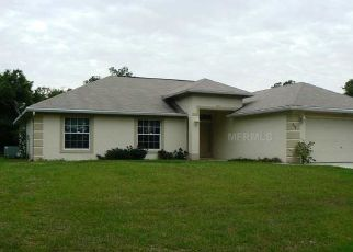 Pre Foreclosure in North Port 34288 WILBURN TER - Property ID: 1438814826