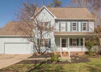 Pre Foreclosure in Chapel Hill 27516 SUDBURY LN - Property ID: 1438977302
