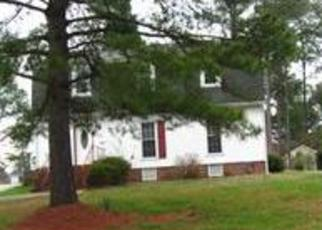 Pre Foreclosure in Wilson 27896 CANAL DR NW - Property ID: 1439048702