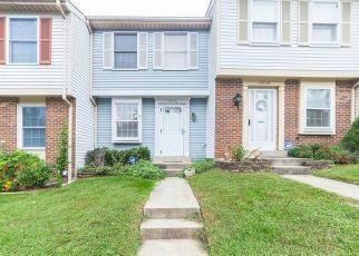 Pre Foreclosure in Germantown 20876 ZINNIA CIR - Property ID: 1439667553
