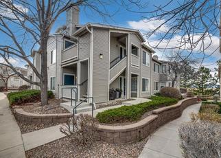 Pre Foreclosure in Littleton 80126 PEBBLE CREEK WAY - Property ID: 1444109485