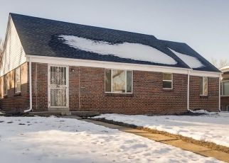 Pre Foreclosure in Denver 80207 ELM ST - Property ID: 1444148917