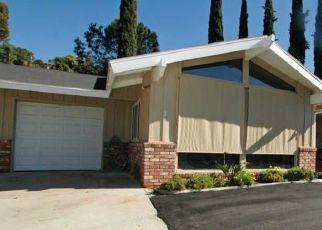 Pre Foreclosure in El Cajon 92021 LA CRESTA RD - Property ID: 1444559280