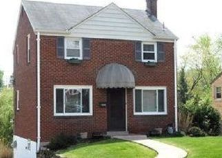 Pre Foreclosure in Pittsburgh 15234 HASTIE RD - Property ID: 1447947446