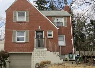 Pre Foreclosure in Pittsburgh 15235 GLENFIELD DR - Property ID: 1447974609