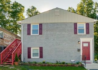 Pre Foreclosure in Suitland 20746 SPAULDING AVE - Property ID: 1451218232