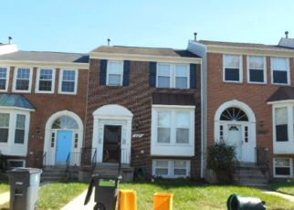 Pre Foreclosure in Bowie 20721 LAKE SHORE DR - Property ID: 1452613631