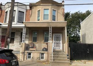 Pre Foreclosure in Philadelphia 19134 A ST - Property ID: 1452933342