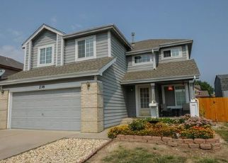 Pre Foreclosure in Fountain 80817 TURF TRAIL PL - Property ID: 1455802967