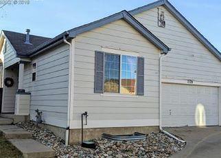 Pre Foreclosure in Colorado Springs 80922 COLORADO CREEK GRV - Property ID: 1455803387