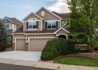 Pre Foreclosure in Aurora 80016 E CALHOUN PL - Property ID: 1455963697