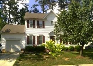 Pre Foreclosure in Raleigh 27610 DANDRIDGE DR - Property ID: 1456938621