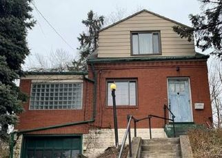 Pre Foreclosure in Pittsburgh 15202 W RIVERVIEW AVE - Property ID: 1458391825