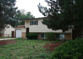 Pre Foreclosure in Fountain 80817 RIVER DR - Property ID: 1460294371
