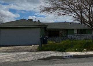 Pre Foreclosure in Palmdale 93550 32ND ST E - Property ID: 1460448547