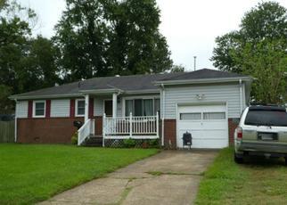 Pre Foreclosure in Virginia Beach 23455 SAGEWOOD DR - Property ID: 1461356463