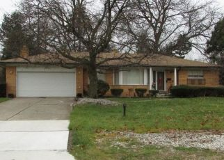Pre Foreclosure in Southfield 48075 GREENWALD DR - Property ID: 1463842849