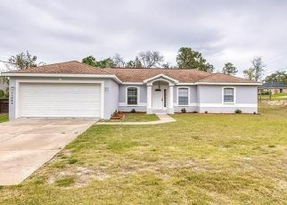 Pre Foreclosure in Brooksville 34614 ROBINA RD - Property ID: 1466907791