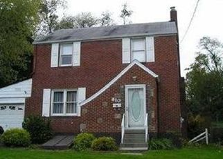 Pre Foreclosure in Mckeesport 15135 EVERGLADE DR - Property ID: 1468005344