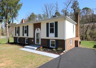 Pre Foreclosure in Roanoke 24018 JANNEY LN - Property ID: 1468066667