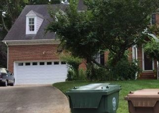 Pre Foreclosure in Cary 27518 WINDSWEPT LN - Property ID: 1468326377