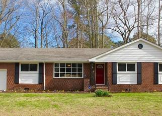 Pre Foreclosure in Chesapeake 23321 SUN VALLEY CRES - Property ID: 1468422744