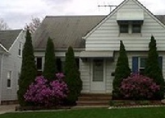 Pre Foreclosure in Cleveland 44125 HASTINGS RD - Property ID: 1470046296