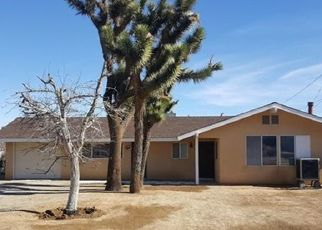 Pre Foreclosure in Yucca Valley 92284 FOX TRL - Property ID: 1470686175
