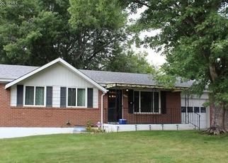 Pre Foreclosure in Colorado Springs 80909 N GARO AVE - Property ID: 1472515154