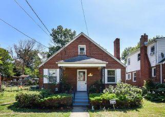 Pre Foreclosure in Washington 20018 CLINTON ST NE - Property ID: 1472600571