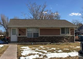 Pre Foreclosure in Commerce City 80022 GRAPE ST - Property ID: 1472785394