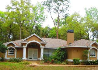 Pre Foreclosure in Hernando 34442 E TIMBERWOOD CT - Property ID: 1472932552