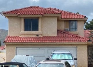 Pre Foreclosure in Moreno Valley 92557 CRANE CT - Property ID: 1473016201
