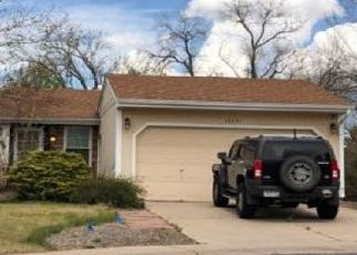 Pre Foreclosure in Aurora 80015 E CRESTLINE CIR - Property ID: 1474048513