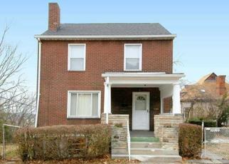 Pre Foreclosure in Pittsburgh 15218 FRANCIS ST - Property ID: 1474463717