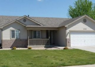 Pre Foreclosure in Greeley 80634 W 31ST ST - Property ID: 1474650283