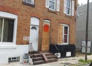 Pre Foreclosure in Philadelphia 19134 E BIRCH ST - Property ID: 1476164362